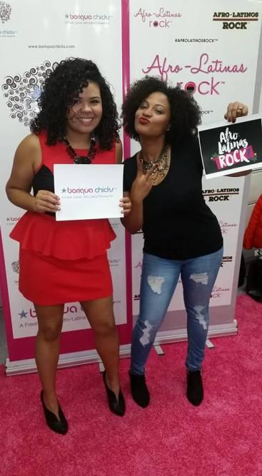 Blogger AfroLatina Natural and Chicago Comedian Melissa DuPrey